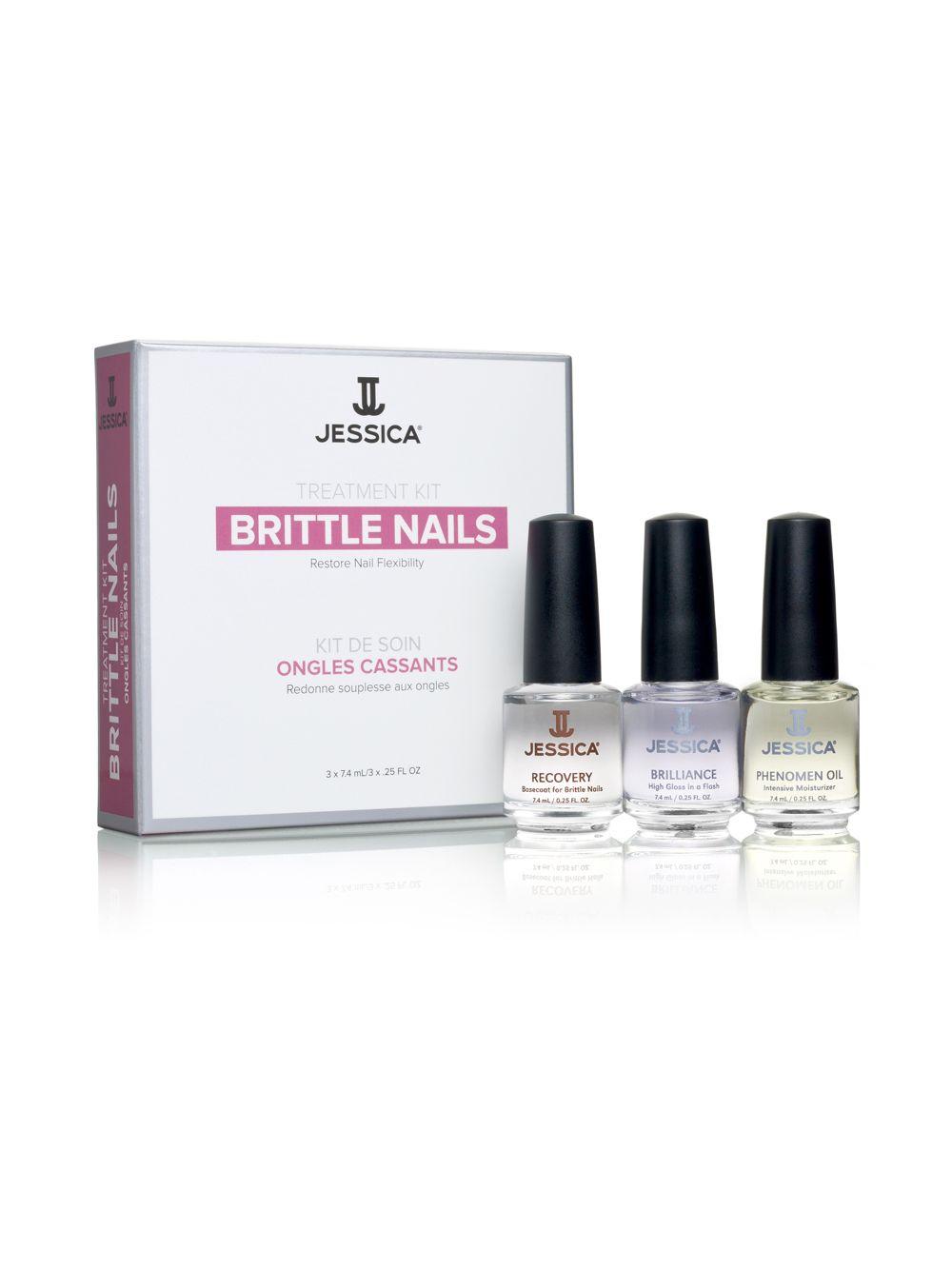 Jessica Cosmetics Treatment Kit Brittle Nails 1