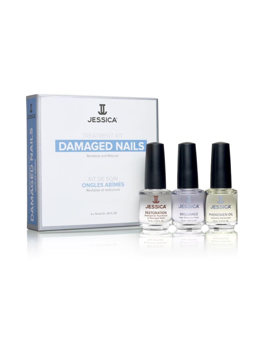 Damaged Nails Treatment Kit - Jessica Cosmetics