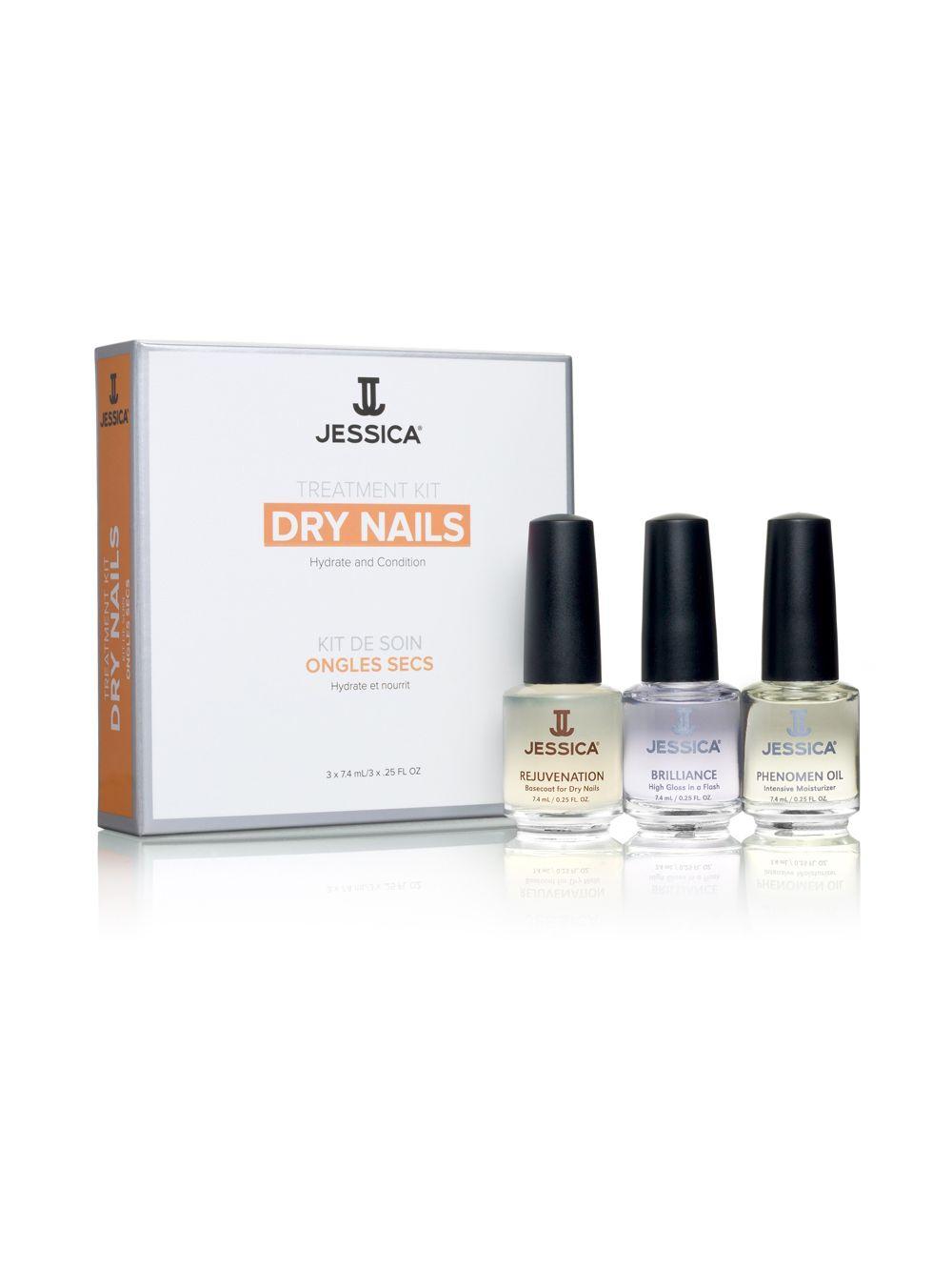 Jessica Cosmetics Treatment Kit Dry Nails 2