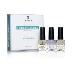 Jessica Cosmetics Treatment Kit Peeling Nails 1