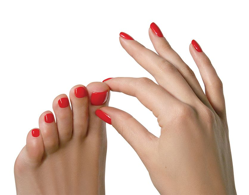 Jessica Nails Nail Advice Toenails Discoloured