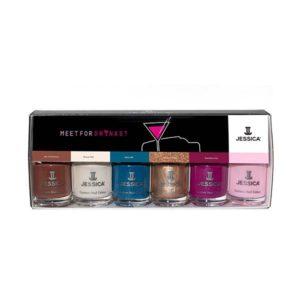 meet for drinks nail polish gift set