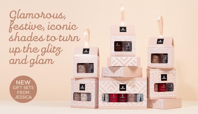 JESSICA Festive Nail Polish Gift Sets